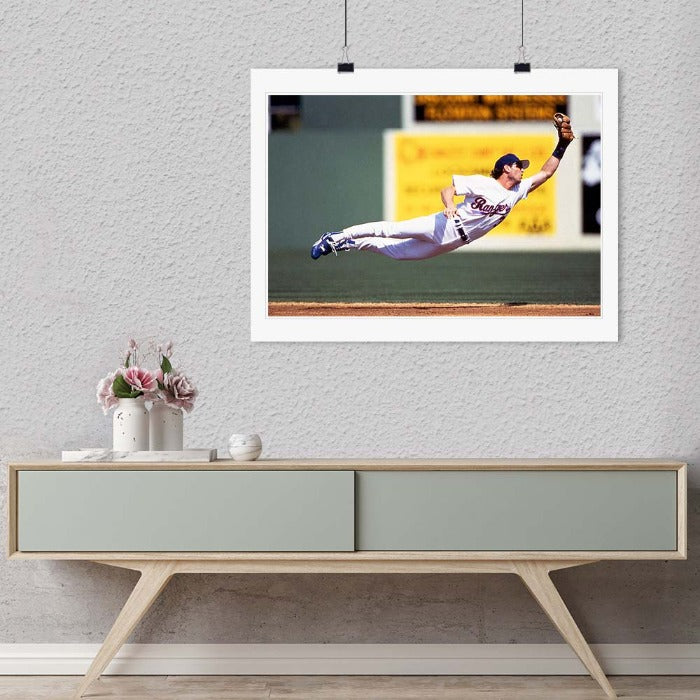 """Player in Mid Air"" by Chuck Solomon Photography-Artography Limited"