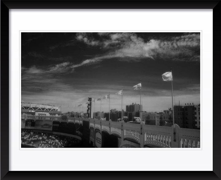 """Infared Old Yankee Stadium"" by Chuck Solomon Photography"