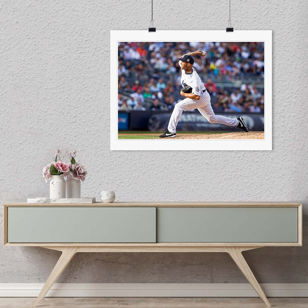 """Mariano Rivera"" by Chuck Solomon Photography 40x50 Limited Edition 7 of 10-Artography Limited"