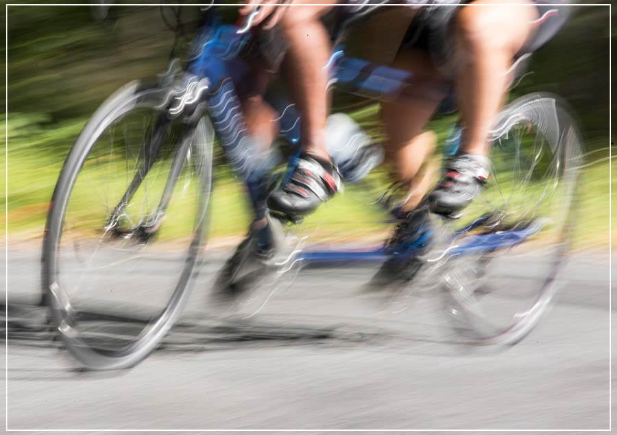 """Tandem Speed"" by Chuck Solomon Photography-Artography Limited"