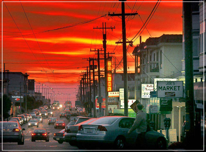 """Balboa Blvd."" by Daniel Furon Photography-Artography Limited"