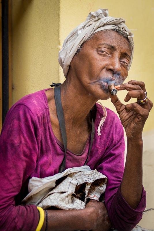 """A Smoking Woman"" by Dorte Verner Photography-Artography Limited"