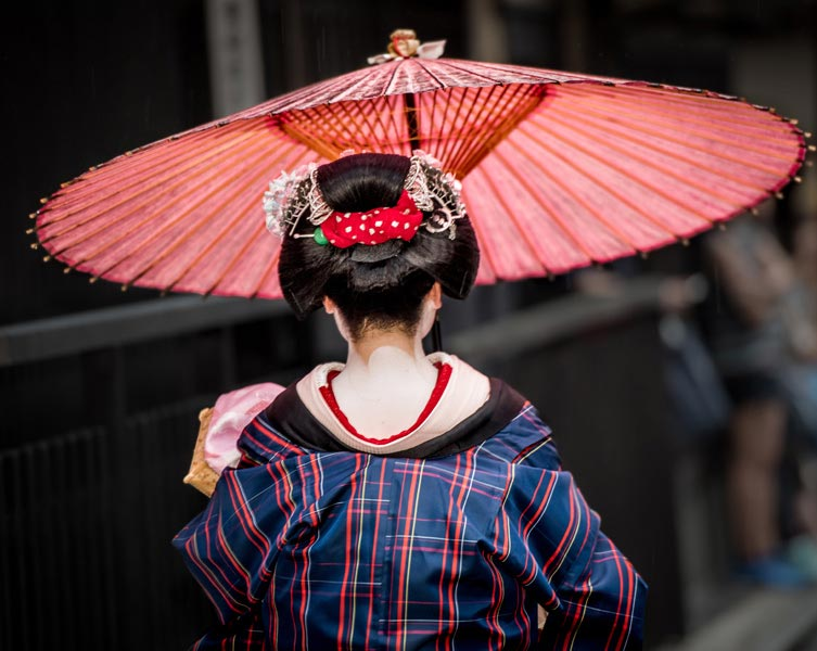 """Geisha Going to Work (A)"" by Dorte Verner Photography"