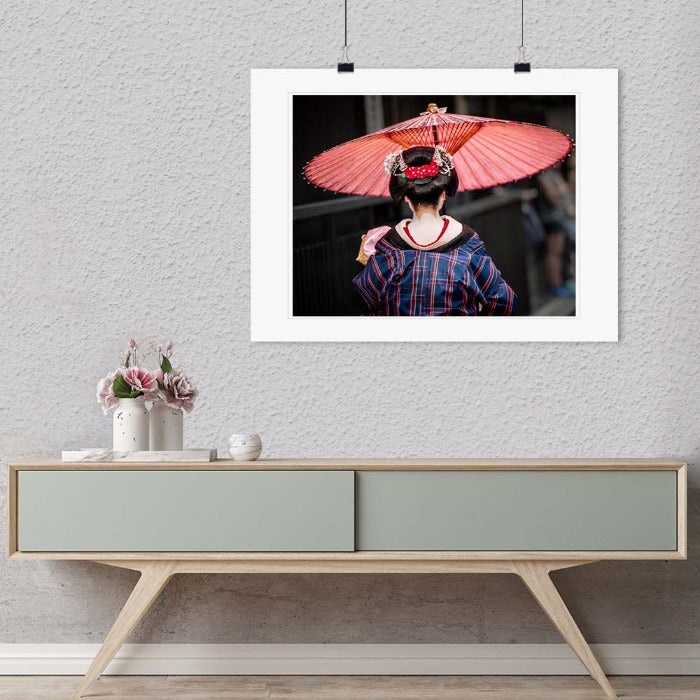"""Geisha Going to Work (A)"" by Dorte Verner Photography-Artography Limited"