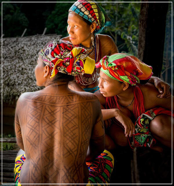 """Embera Women"" by Dorte Verner Photography-Artography Limited"