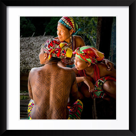 """Embera Women"" by Dorte Verner Photography"