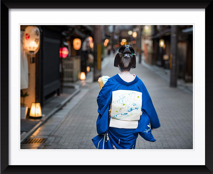 """Geisha Going to Work (B)"" by Dorte Verner Photography"