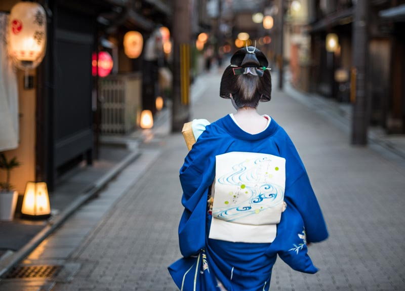 """Geisha Going to Work (B)"" by Dorte Verner Photography-Artography Limited"
