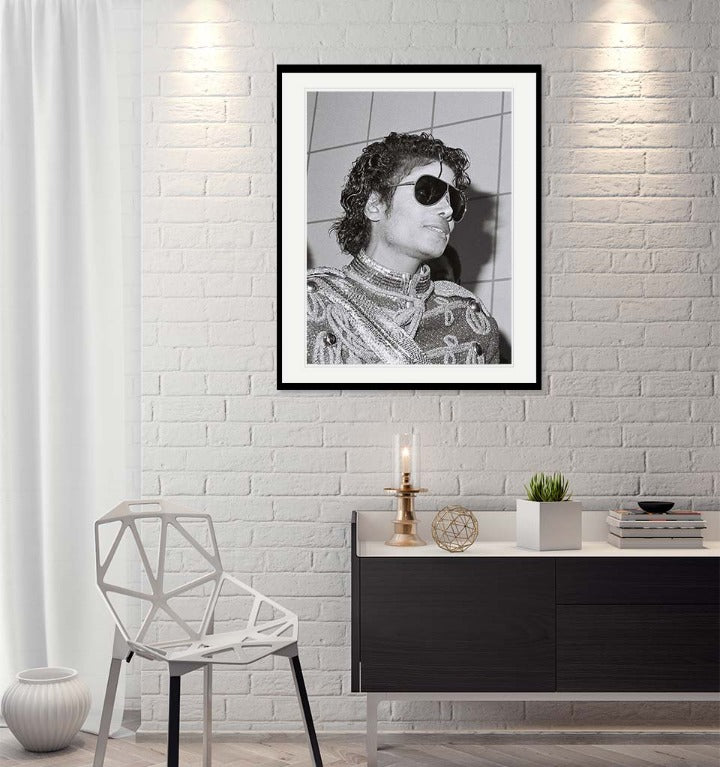 """Michael Jackson Portrait"" by Delroi Whitaker Photography-Artography Limited"