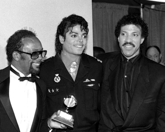 """Quincy Jones, Michael Jackson & Lionel Richie"" by Delroi Whitaker Photography-Artography Limited"