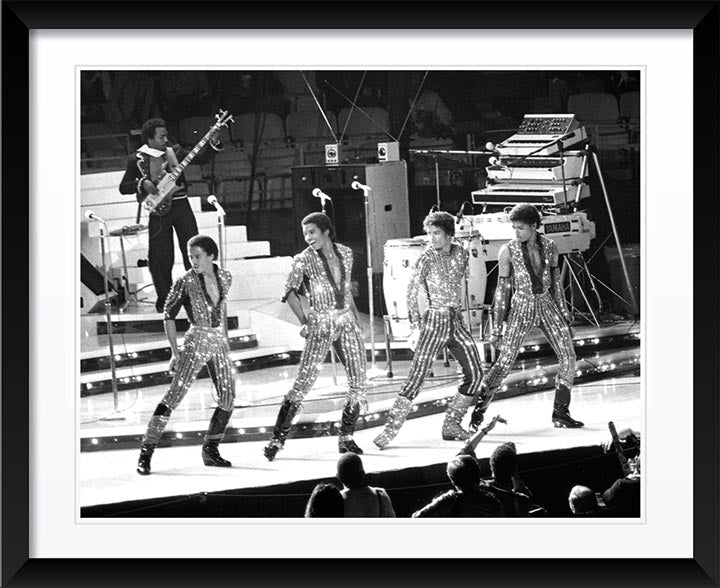 """The Jackson 5 On Stage"" by Delroi Whitaker Photography"