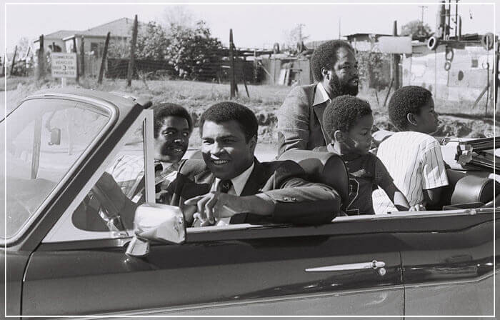"""Muhammad Ali in Rolls Royce Corniche"" by Delroi Whitaker Photography-Artography Limited"