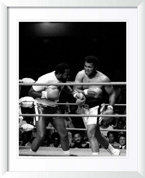 """Muhammad Ali in Ring 2"" by Delroi Whitaker Photography"