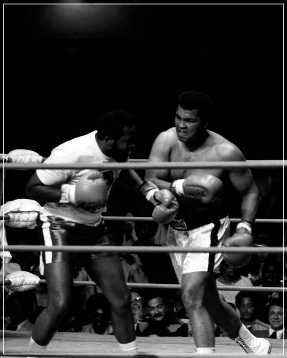 """Muhammad Ali in Ring 2"" by Delroi Whitaker Photography-Artography Limited"