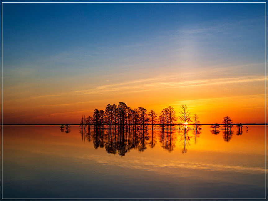 """Sun Pillar Sunrise"" by Eve Turek Photography"