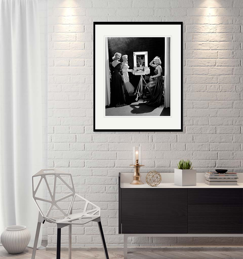 Lauren Bacall, Betty Grable and Marilyn Monroe, 1953 - Original Fine Art Print-Artography Limited