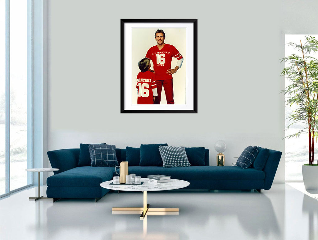 """Joe Montana with Kid"" by Gary Bernstein"
