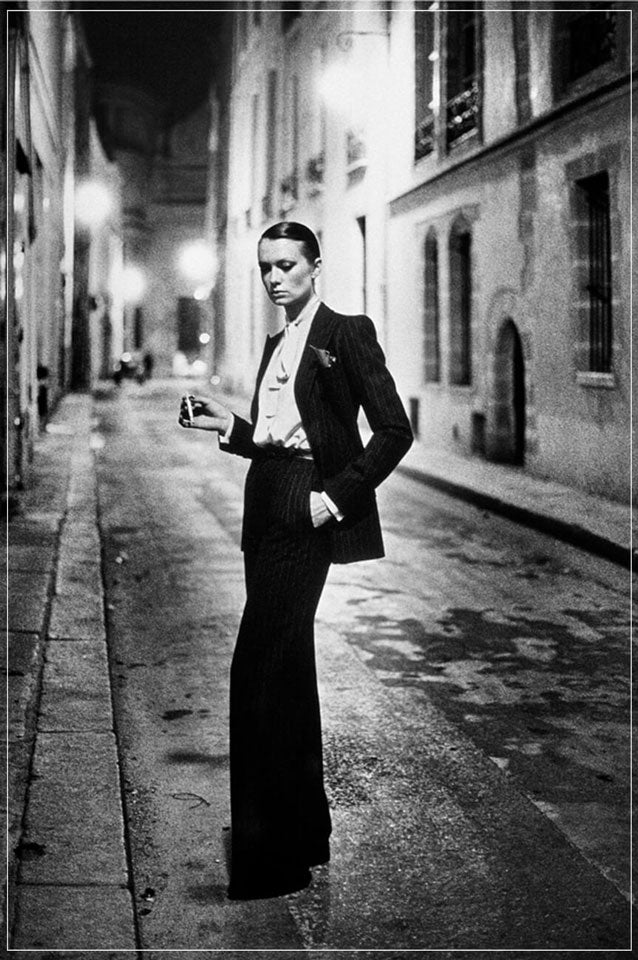 """Rue Aubriot, Parisian Street 1975"" by Helmut Newton Photography-Artography Limited"