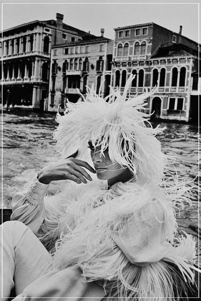 """Woman in Venice"" by Helmut Newton Photography-Artography Limited"