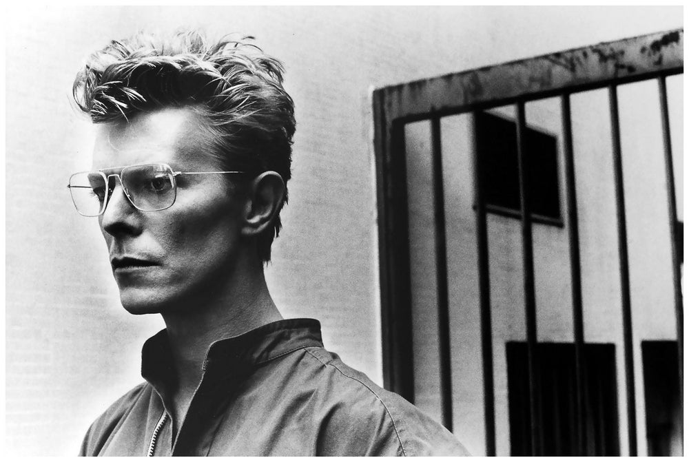 """David Bowie Jail Cell, 1983"" by Helmut Newton Photography-Artography Limited"