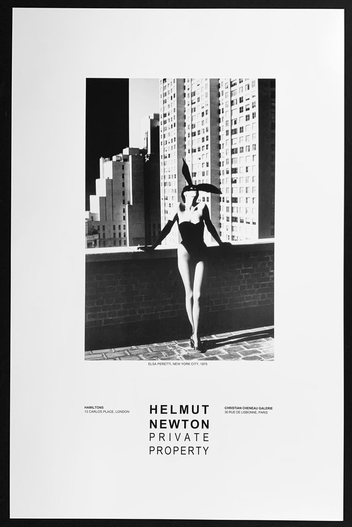 """Elsa Peretti in New York, 1975"" Poster by Helmut Newton Photography-Artography Limited"