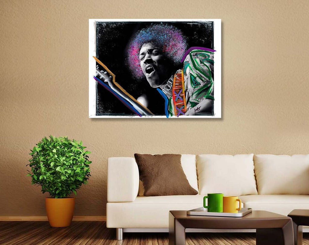 """Jammin"" by Jacqlyn Burnett-Artography Limited"