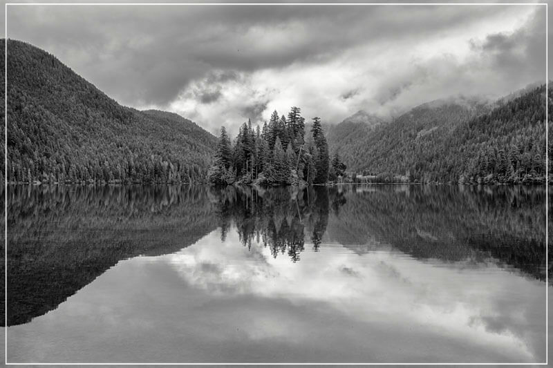 """Packwood Lake"" by Joshua Johnston Photography-Artography Limited"