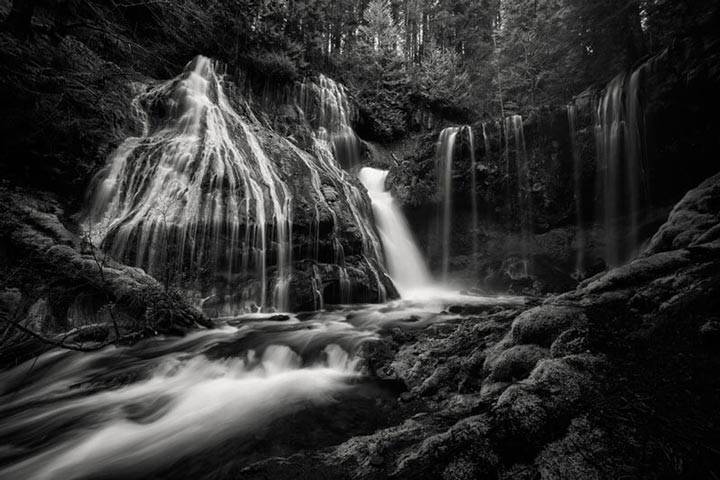 """Panther Creek falls B"" by Joshua Johnston Photography"