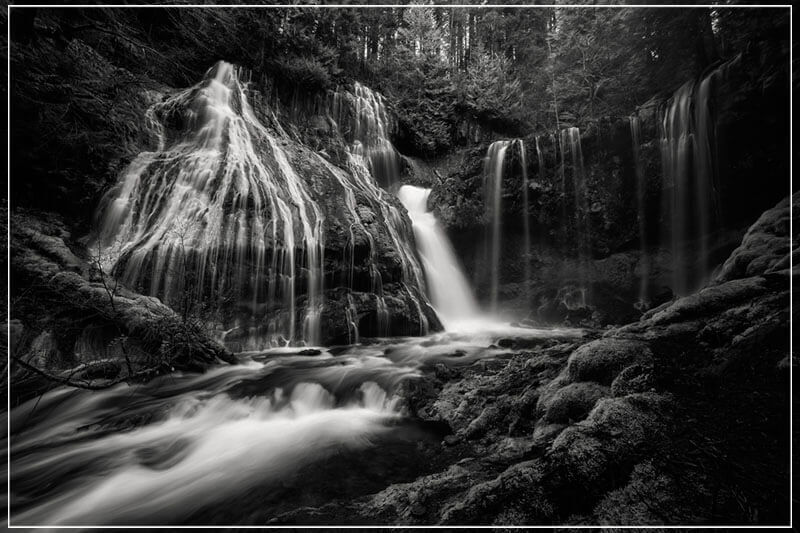 """Panther Creek falls B"" by Joshua Johnston Photography-Artography Limited"