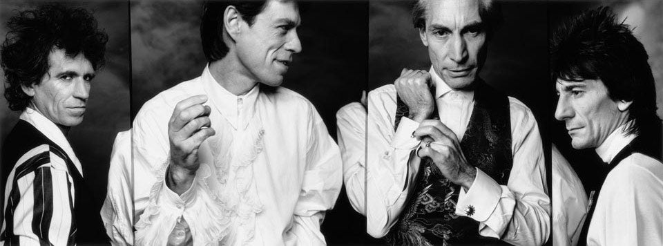 """The Rolling Stones, 1989"" by John Stoddart Photography"
