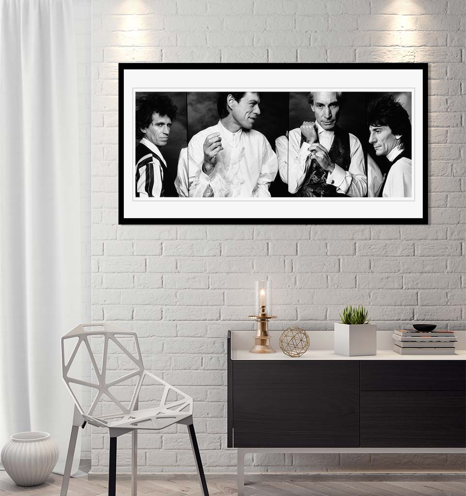"""The Rolling Stones, 1989"" by John Stoddart Photography-Artography Limited"