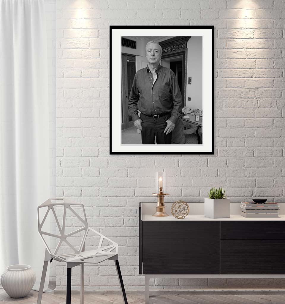"""Micheal Caine"" by John Stoddart Photography-Artography Limited"