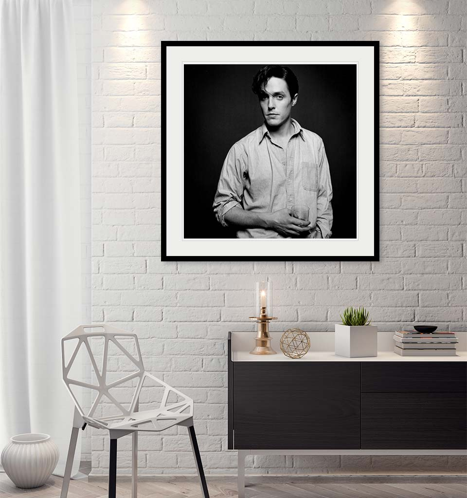 """Hugh Grant"" by John Stoddart Photography-Artography Limited"