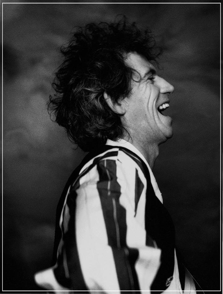 """Keith Richards"" by John Stoddart Photography-Artography Limited"