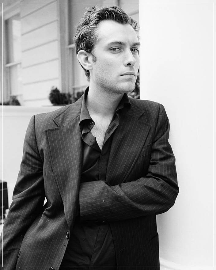 """Jude Law"" by John Stoddart Photography-Artography Limited"