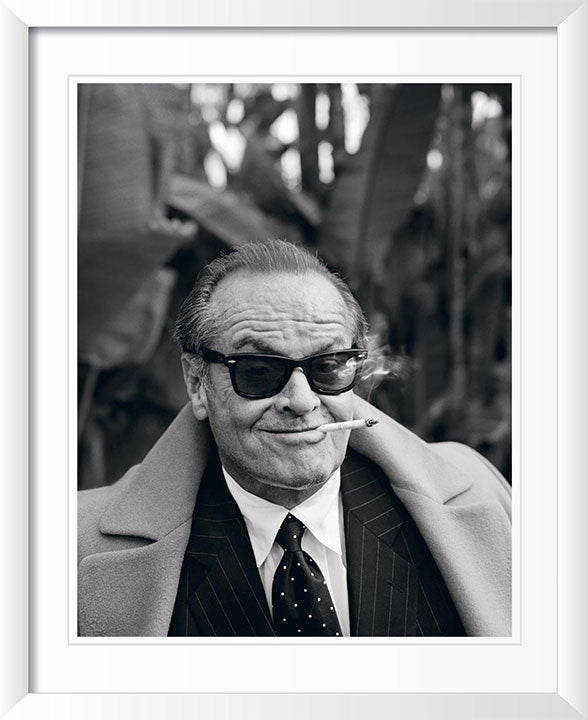Jack Nicholson Smoking A Cigarette by Lorenzo Agius Photography