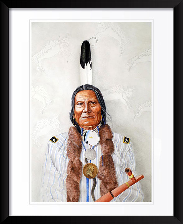 """Buffalo Bulls Ghost, Sioux"" by Patrick Faure"