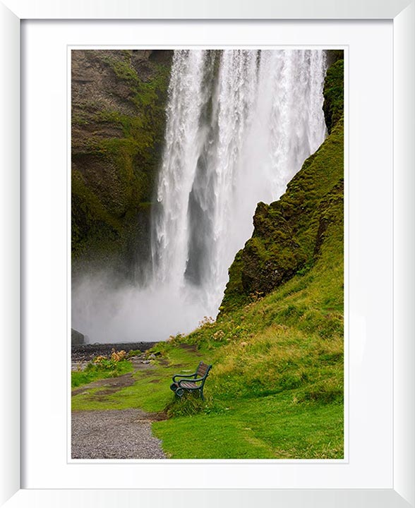 """Skogafoss Falls, Iceland"" by Tom Artin Photography"
