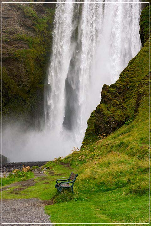 """Skogafoss Falls, Iceland"" by Tom Artin Photography-Artography Limited"
