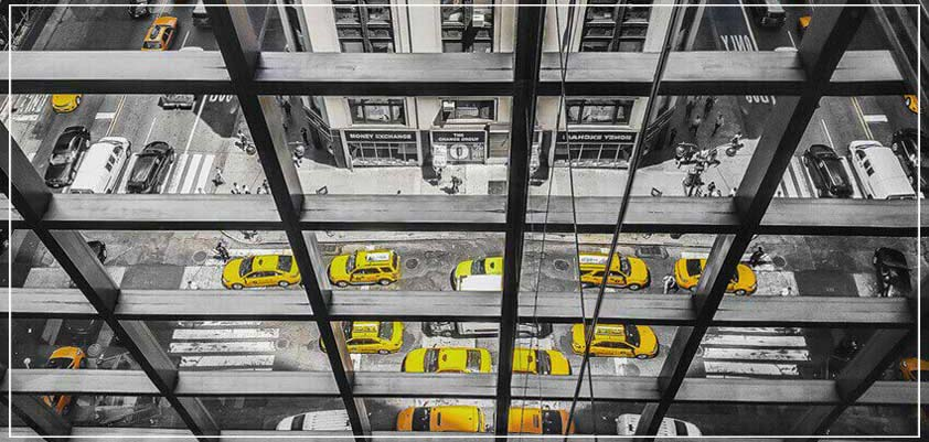 """Horizontal Cabs"" by Viet Chu Photography-Artography Limited"
