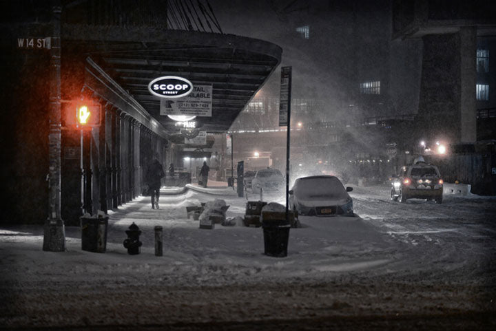 """Snowy Night, NYC"" by Viet Chu Photography"