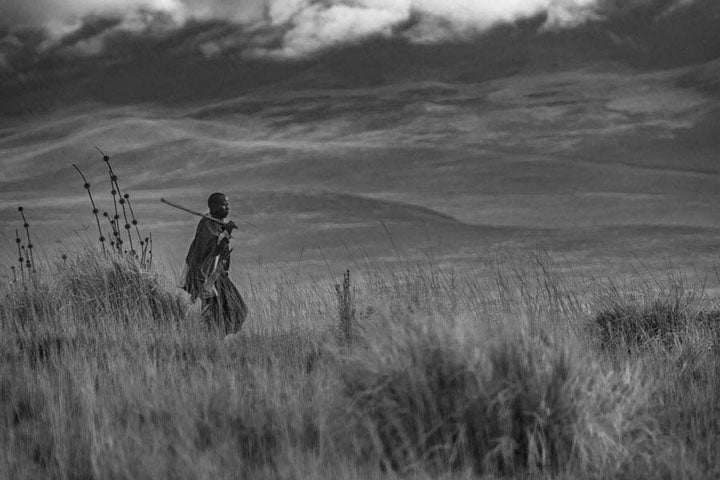 """Maasai Walk, Tanzania"" by Viet Chu Photography"