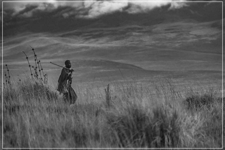 """Maasai Walk, Tanzania"" by Viet Chu Photography-Artography Limited"