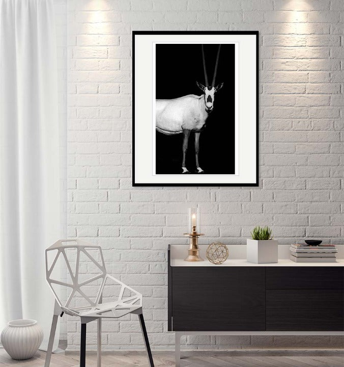 """Arabian Oryx"" by Viet Chu Photography-Artography Limited"