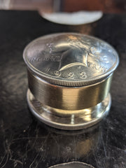 Peace Dollar Stash Box, Closed