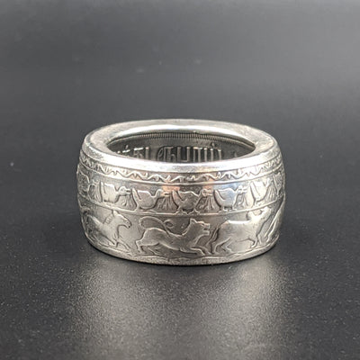 Buddhism Celebration Coin Ring