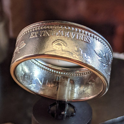 John Wick Silver Coin Ring