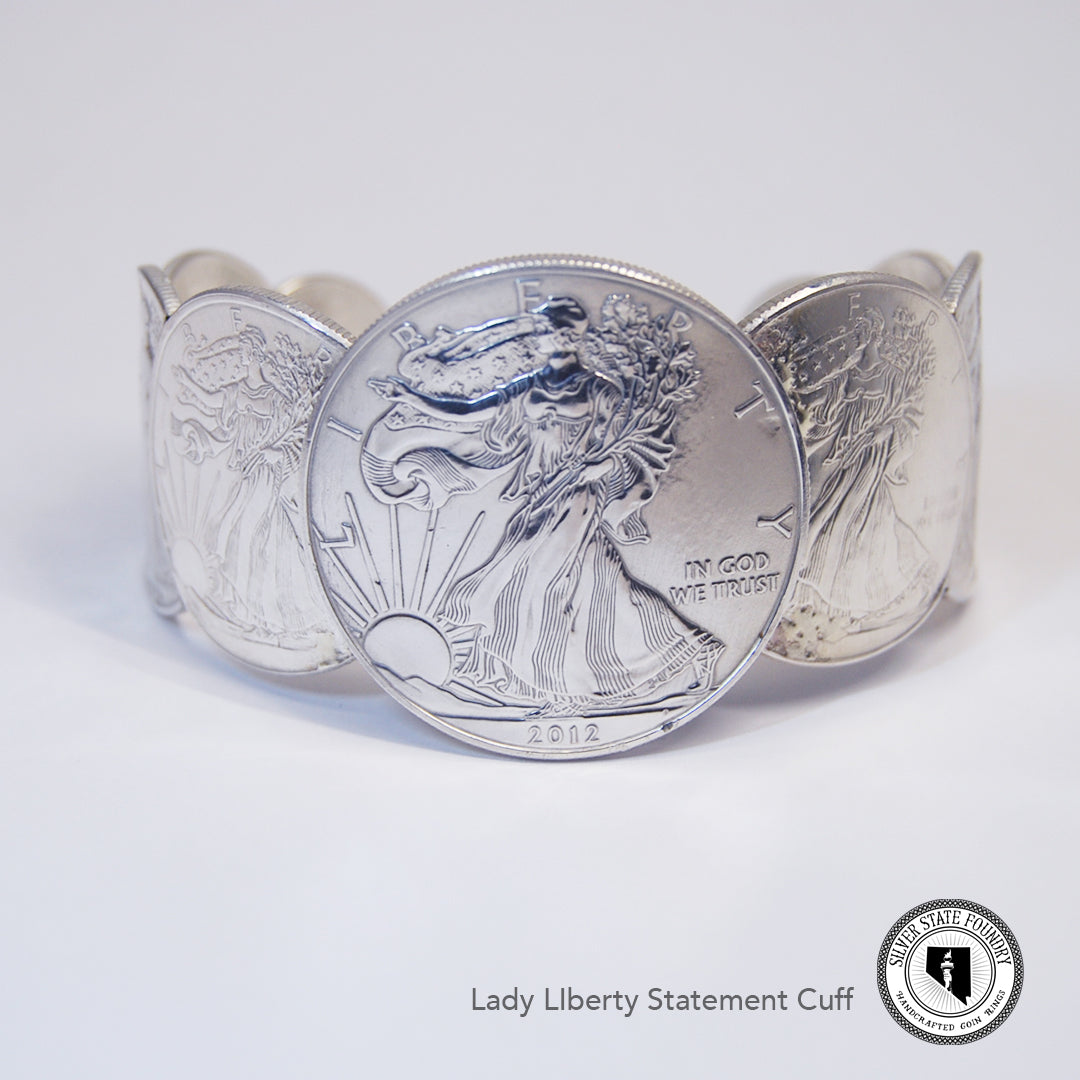 Lady Liberty Statement Cuff