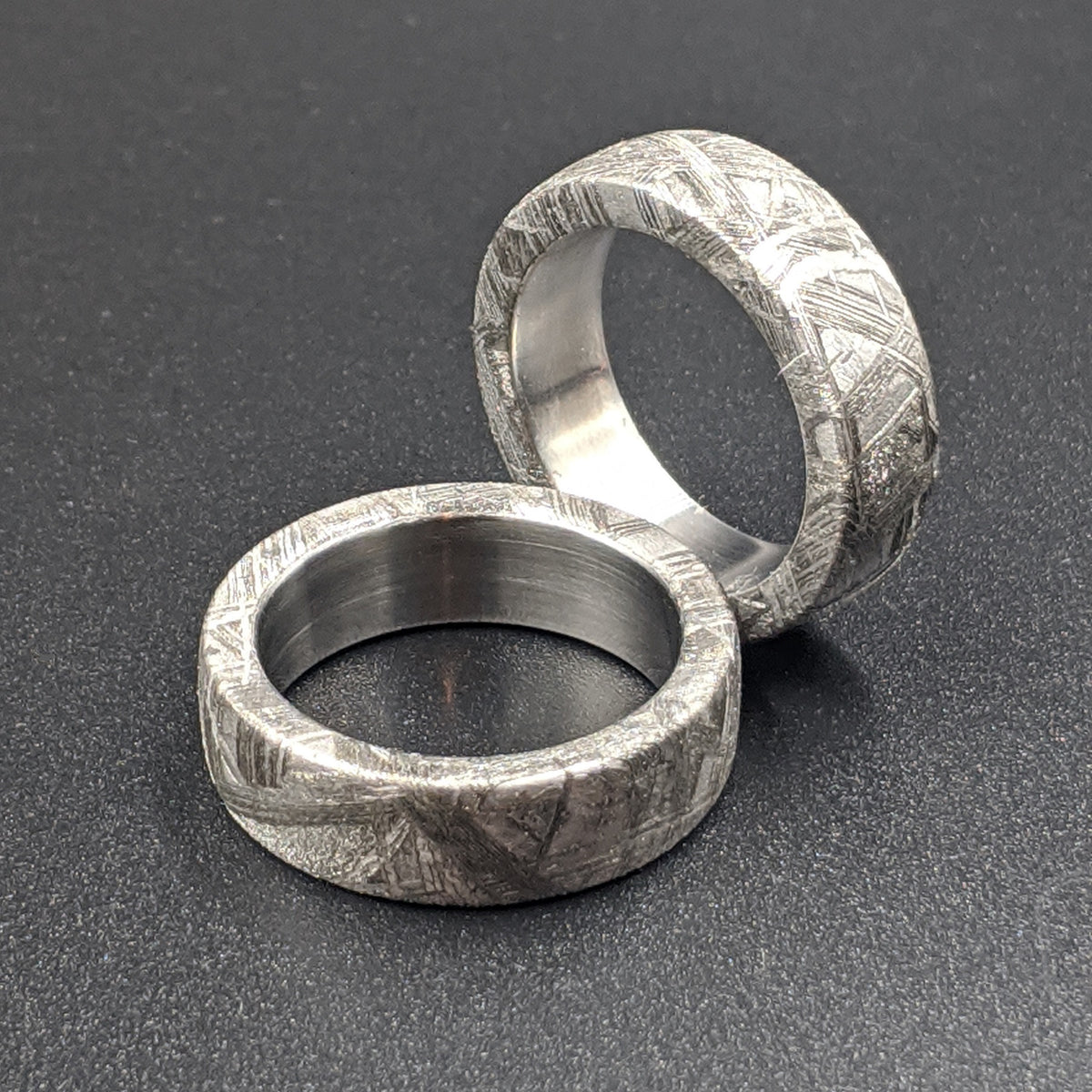 Genuine Meteorite Ring