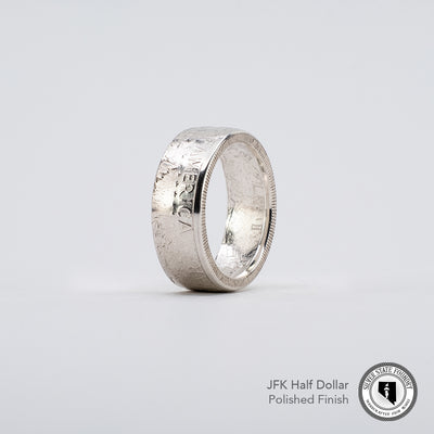 JFK Coin Ring